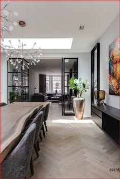 Dining Room Design, Interior Design Living Room, Living Room Decor, Loft Interior, Modern Home Interior Design, Interior Lighting, Dining Rooms, Interior Decorating, Interiores Design