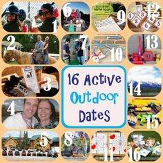 16 Active Outdoor Dates from TheDatingDivas.com