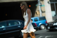 Street Style: Seen at New York Fashion Week Spring 2014 - New York Fashion Week Spring 2014 Street Style, Day 8