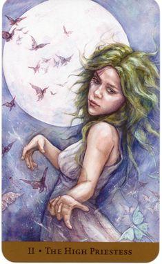 The High Priestess - Tarot of the Hidden Realm