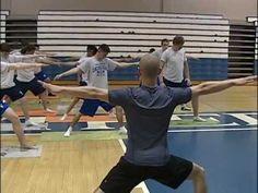 Highschool Boys Fit Yoga Class