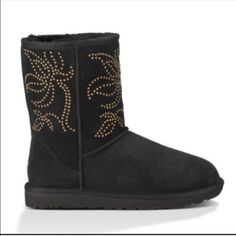 Ugg authentic Adelaide floral studs boots Sz 9 new Ugg authentic Adelaide floral studs boots Sz 9 new with box ! Style sold out everywhere UGG Shoes