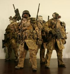 Ashley Wood ThreeA Grunts - OSW: One Sixth Warrior Forum