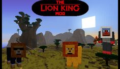 The Lion King Mod para Minecraft 1.4.5