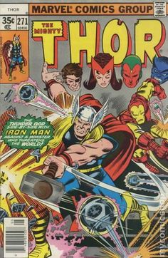 Thor (1962-1996 1st Series Journey Into Mystery) 271