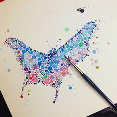 Monday night full of butterflies