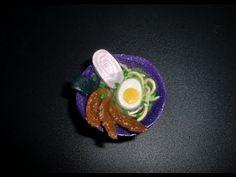 FIMO Ramen-Suppe ラーメン: Polymer Japanese-Soup - Tutorial [HD/deutsch] (EN-Sub) - YouTube