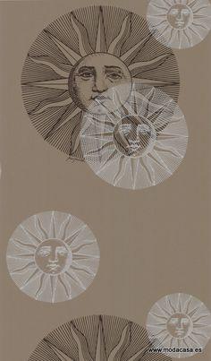 Papel Pintado Cole & Son  il Sole 77/9035 . Disponible online en Modacasa.es