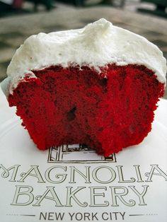 Red Velvet of Magnolia Bakery.......the best! http://bit.ly/I7rvy0