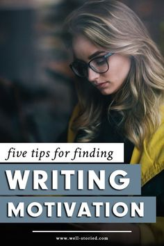 Struggling to find the motivation to write? You aren't alone, writer. It's time to stop struggling and get words on the page with these tips from guest writer Heather Currie! Writing Motivation, Writing Goals, Writing Advice, Writing Resources, Writing A Book, Writing Humor, Writing Strategies, Writing Workshop, Writing Help