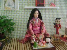 Barbie made to move, Diorama