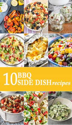 As summer comes to end, let's enjoy the outdoors as much as we can. Today we're sharing 10 BBQ side dishes to pair with your cookout favorites. Enjoy! via @beckygallhardin