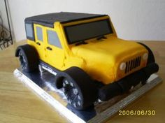 Jeep Cake, reach ashcakes journey to becoming a cake decorator!