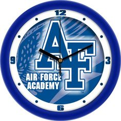 Air Force Falcons Dimension Wall Clock https://www.fanprint.com/licenses/air-force-falcons?ref=5750