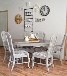 4 Artistic Tips AND Tricks: Dining Furniture Ideas Diy Table dining furniture ideas beautiful. Dining Table Makeover, Furniture, Reupholster Chair Dining, Country Dining Tables, Dining Furniture, Outdoor Dining Furniture, Dining Furniture Makeover, French Country Dining Table, Dining Chairs