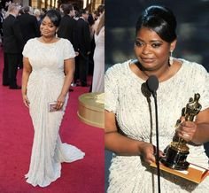 Oscar Red Carpet Octavia Spencer Sparkles Sequin Crew Neckline Sheath With Short Sleeve Formal Occasion Evening Gowns Celebrity Dresses 2016 Shopping Online Dresses Teatro Dresses From Faithfully, $178.9| Dhgate.Com Sexy Evening Dress, Evening Dresses, Party Gowns, Party Dress, Octavia Spencer, Best Gowns, Celebrity Gowns, Black Satin Dress, Dresses 2016