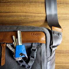 http://chicerman.com  loftofcambie:  Easy access to your keys. Support#Urban #Pack: http://kck.st/1LFZNeT #kickstarter #bag #edc #fashion #lifestyle #murse #mens #retro #minimalist #leather #canvas #travel #transit #city  #accessories