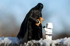 Darth Vader também ama (Foto: Kristina Alexanderson)