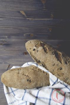 Baguette di Grano Arso e Olive @MolinoRossetto