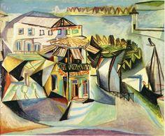 Pablo Picasso - Café Royan, 1940