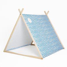 Blue Waves Wonder Tent + Clothes Rack Conversion