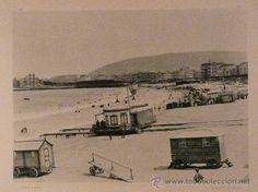 1891 Fotografía antigua: Nº 202. SAN SEBASTIÁN. PLAYA DE BAÑOS. EDITOR HAUSER Y MENET - Foto 1 - 24545756