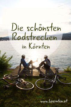 Was für ein Radurlaub! In Kärnten dauert die Saison für Pedalritter ein bisschen länger. Egal ob Mountainbiker, Rennradfahrer, E-Biker oder Genussradfahrer. Auf den ausgeschilderten Trails und Radwegen - viele nahe von Badeseen, kommt jeder auf seine Kosten. Hier findest du eine Übersicht über das Radland Kärnten. Packliste schon erstellt?  #visitcarinthia #itsmylife #radfahren #radurlaub #radfahrenlustig #radsport #nockbike #lakebike Klopeiner See, E Biker, Seen, Travel, Bike Trails, Bike Rides, Tourism, Travel Advice, Hiking