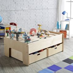 Little Colorado Handcrafted Play Table - Activity Tables at Hayneedle More