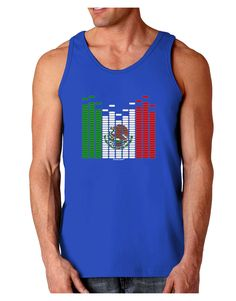 TooLoud Mexican Flag Levels - Cinco De Mayo Dark Loose Tank Top