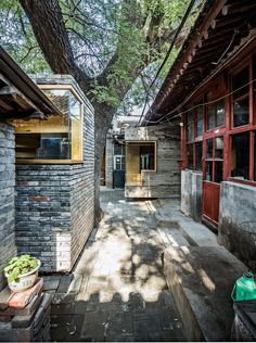 """Cha'er Hutong (hutong of tea) is a quiet spot among the busy Dashilar area, situated one kilometre from Tiananmen Square in the city centre. No.8 Cha'er Hutong is a typical """"Da-Za-Yuan"""" (big-m…"""