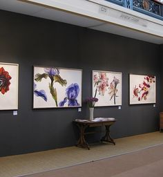 Details of Rosie Sanders' forthcoming exhibitions of original paintings and prints