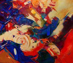 "Ancestry | Charlotte  Riley-Webb  | acrylic on canvas | 48.50"" x 56"""
