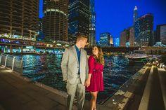Beautiful-Chicago-Night-Engagement-Photos