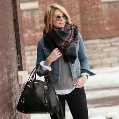 Gap jacket. Casual outfit