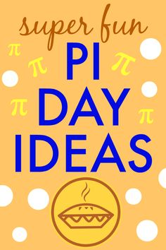 Need math lessons ideas? Here's how to celebrate Pi Day with kids - great STEM unit studies and fun holiday for kids! #math #lessons #homeschooling #piday Teacher Lesson Plans, Free Lesson Plans, Preschool Lesson Plans, Lesson Plan Templates, Bible Lessons For Kids, Math Lessons, Fun Activities For Kids, Math Activities, Teaching Reading