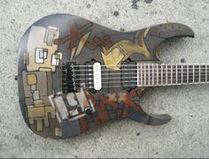Mike Shinoda's guitar
