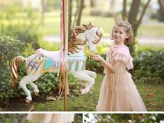 I have been photographing Miss Rylee since she was tiny .... last year we planned on her being apart of the amazing Carousel Horse Mini bu...