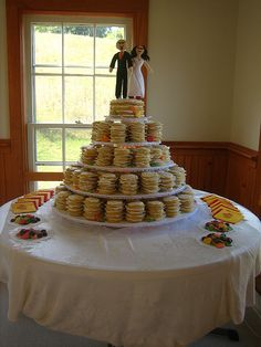 Cookie Wedding Cake Presentation Again I Almost Like It