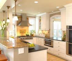 Gorgeous 17 Beautiful Kitchen Remodeling Ideas on A Budget https://homadein.com/2017/07/27/17-beautiful-kitchen-remodeling-ideas-budget/