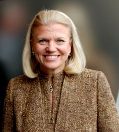 """Virginia Marie """"Ginni"""" Rometty, born July 1957 or 1958, is an American business executive. She is the current Chairwoman and CEO of IBM, and the first woman to head the company."""
