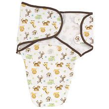"Summer Infant Neutral SwaddleMe Cotton Graphic Jungle (Small/Medium) - Summer Infant - Babies ""R"" Us"