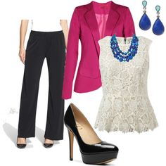 """Spring Business Attire"" by jennifer-jordan-1 on Polyvore"