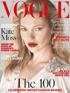 British Vogue's contributing editor – Kate Moss, is the cover girl for British Vogue April 2017, and she looks amazing as always. This stunning cover was captured by photographic duo M…