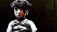 London street artist paints heartbreaking tribute to 5-year-old Syrian boyPegasus painted Omran Daqneesh in Kings Cross London.  Image: pegasus  By Sam Haysom2016-08-24 14:13:26 UTC  LONDON  A street artist has painted an image of Omran Daqneesh the five-year-old boy whose photo was widely shared on social media last week after he was injured in Aleppo Syria to help raise awareness of the wars consequences.  Pegasus a UK painter known for pieces based on contemporary world issues completed…