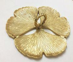 Gold 3 Leaf Clover Platter | Gold Plates
