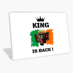 #thekingisback #conormcgregor #ufc #mma #findyourthing #shirtsonline #trends #riveofficial #favouriteshirts  #art #style #design #shopping #redbubble #digitalart #design #fashion #phonecases #customproducts #onlineshopping #accessories #shoponline #onlinestore Conor Mcgregor, Laptop Skin, Ufc, Sell Your Art, Vinyl Decals, Vibrant Colors, Custom Design, Finding Yourself, Digital Art