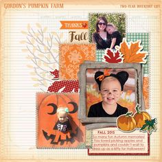 Digital scrapbook layout by Candice Meyer featuring the Carta Bella Autumn collection available at www.snapclicksupply.com #digitalscrapbooking