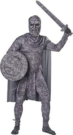 DESTROYER ROMAN GREEK GOD WARRIOR ADULT MENS SHOES SANDALS