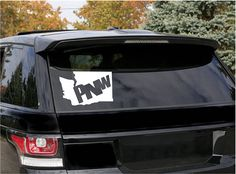 Show off your Pacific Northwest pride with a true PNW decal encorporating Washington State! These vinyl decals are made with top quality permanent vinyl that is perfect for your car or truck! These decals also look great on your tumbler, window, mirror, fridge, or laptop as well as