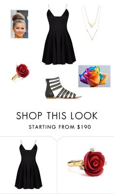 """""""Remember Me"""" by skittlespercyj ❤ liked on Polyvore featuring Oscar de la Renta"""